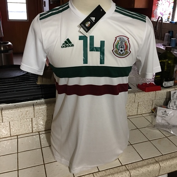 new styles ab4d1 34df1 Chicharito Mexico World Cup Jersey NWT